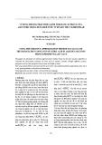 Sử dụng phương pháp tính lặp để tính hằng số phân li của axit citric trong dung dịch nước từ dữ liệu thực nghiệm đo pH