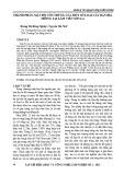 Thành phần, mật độ côn trùng của một số loài cây bản địa trồng tại Lâm viên Sơn La