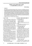Nghiên cứu đặc điểm sinh vật học của bệnh khô lá Cẩm lai vú