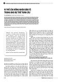 Vị thế của đồng nhân dân tệ trong kho dự trữ toàn cầu