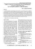 Nghiên cứu đề xuất giải pháp bảo tồn loài Đinh hương (Dysoxylum cauliflorum Hiern 1875) tại Vườn Quốc gia Bến En – Thanh Hóa