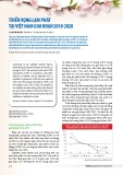 Triển vọng lạm phát tại Việt Nam giai đoạn 2018-2020