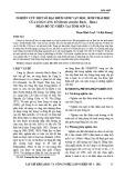 Nghiên cứu một số đặc điểm sinh vật học, sinh thái học của loài Cáng lò (Betula alnoides Buch. – Ham.) phân bố tự nhiên tại tỉnh Sơn La