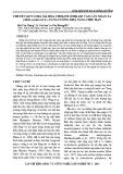 Chuyển gen Coda mã hóa Choline Oxidase vào cây Xoan ta (Melia azedarach L.) tăng cường khả năng chịu hạn