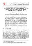 Xử lý nước thải nuôi tôm thẻ chân trắng thương phẩm bằng hệ thống hồ sinh học kết hợp thả cá, rong sụn và sò ở xã Vĩnh Thạch, huyện Vĩnh Linh, tỉnh Quảng Trị