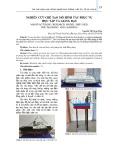 Nghiên cứu chế tạo mô hình tàu phục vụ học tập và giảng dạy