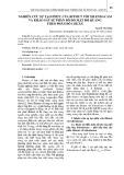 Nghiên cứu sự tạo phức của Bitmut với Xilendacam và khảo sát sự phân bố đo mật độ quang theo phân bố chuẩn