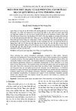 Phân tích thực trạng và giải pháp nâng cấp chuỗi giá trị cây Quýt Hồng Lai Vung tỉnh Đồng Tháp