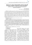 Design of a single microstrip antenna for the future 5G mobile communication networks
