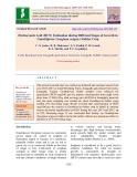 Hydrocyanic acid (HCN) estimation during different stages of growth in Gundrijowar (Sorghum vulgare) fodder crop