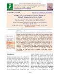 Stability analysis for yield and component traits in sorghum [Sorghum bicolor (l.) Moench.]