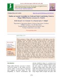Studies on genetic variability for yield and yield contributing traits in finger millet Eleusine coracana (L.) gaertn
