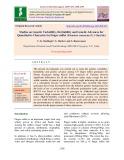 Studies on genetic variability, heritability and genetic advances for quantitative characters in finger millet (Eleusine coracana (L.) Gaertn.)