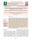 M1 Biological Injuries: Indicators for M2 macro - and micro-mutation in mungbean [Vigna radiata (L.) Wilczek]