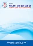 Tạp chí Khoa học – Công nghệ Hàng hải: Số 59-08/2019