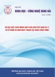 Tạp chí Khoa học – Công nghệ Hàng hải: Số 44-11/2015