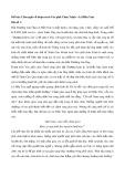 Cảm nghĩ về đoạn trích Vào phủ Chúa Trịnh – Lê Hữu Trác