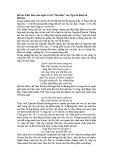 """Phát biểu cảm nghĩ về bài """"Thu điếu"""" của Nguyễn Khuyến"""