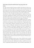 Phân tích nhan đề và lời đề từ bài thơ Tràng Giang của Huy Cận