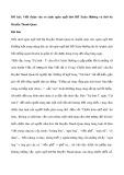 Viết đoạn văn so sánh ngôn ngữ thơ Hồ Xuân Hương và thơ bà Huyện Thanh Quan