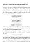 Phân tích bài thơ Xúc cảnh (Ngóng gió đông) của Nguyễn Đình Chiểu