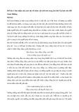 Cảm nhận của anh chị về nhân vật trữ tình trong bài thơ Tự tình của Hồ Xuân Hương