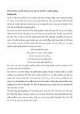Phân tích lối sống của tác giả bài thơ Bài ca ngất ngưởng