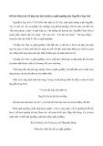 Phân tích vẻ đẹp của bài thơ Bài ca ngất ngưởng của Nguyễn Công Trứ