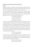 Phân tích bài thơ Mùa xuân chín của Hàn Mặc Tử