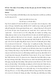 Cảm nhận về âm hưởng văn học dân gian qua bài thơ Thương Vợ của Trần Tế Xương
