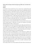 Phân tích đoạn trích Hai tâm trạng trong Chiến tranh và hòa bình của L.Tônxtôi
