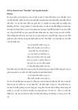 """Bình giảng bài thơ """"Thu điếu"""" của nhà thơ Nguyễn Khuyến"""