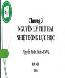 Bài giảng Vật lý đại cương 2: Chương 3 - Nguyễn Xuân Thấu
