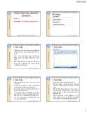 Bài giảng Tin học ứng dụng trong kinh doanh: Chương 1 - ThS. Nguyễn Kim Nam