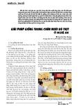 Giải pháp giống trong chăn nuôi bò thịt ở Nghệ An