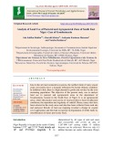Analysis of land use of pastoral and agropastoral zone of south east Niger: Case of Goudoumaria