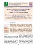 Effect of gamma irradiation on seed germination and seedling vigour of mungbean [Vigna radiata (L.)]