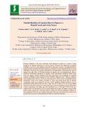 Standardisation of gamma dose in papaya cv. ranchi local and arka surya