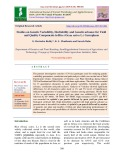 Studies on genetic variability, heritability and genetic advance for yield and quality components in rice (Oryza sativa L.) germplasm
