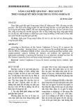 Nâng cao hiệu quả dạy – học lịch sử theo Nghị quyết Hội nghị Trung ương 8 khóa XI