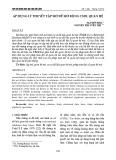 Áp dụng lý thuyết tập mờ để mở rộng CSDL quan hệ