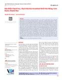 Đặc điểm thạch học, thạch địa hóa Granitoid khối Hòn Rồng, Cam Ranh, Khánh Hòa