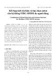 Kết hợp tách tín hiệu và lựa chọn anten cho hệ thống STBC-OFDM đa người dùng