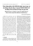 Thỏa hiệp phẩm chất BER-độ phức tạp trong các hệ thống chuyển tiếp vô tuyến MIMO-SDM-AF sử dụng tách tín hiệu kết hợp rút gọn dàn