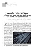 Nghiên cứu chế tạo tấm lọc phủ nano bạc ứng dụng trong các thiết bị làm sạch không khí