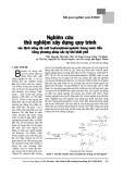 Nghiên cứu thử nghiệm xây dựng quy trình xác định nồng độ axit S-phenylmercapturic trong nước tiểu bằng phương pháp sắc ký khí khối phổ