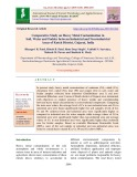 Comparative study on heavy metal contamination in soil, water and fodder between industrial and non-industrial areas of Kutch district, Gujarat, India