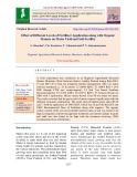 Effect of different levels of fertilizer application alon with organic manure on maize yield and soil fertility