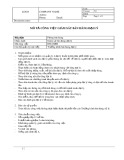 Mô tả công việc Giám sát bán hàng (đại lý)