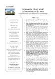 Tạp chí Khoa học Công nghệ Nông nghiệp Việt Nam: Số 11/2018